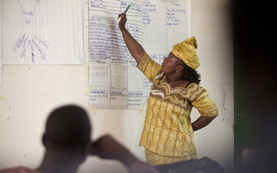 Improving governance by building capacity
