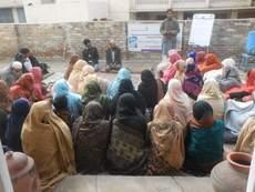 Capacity building of women farmers