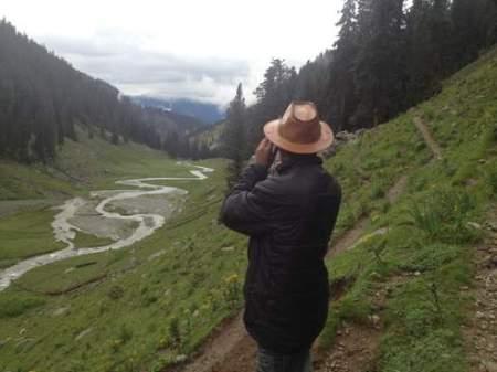 Flood affected forests site visit