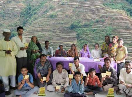 Capacity   building through incense making by community participation