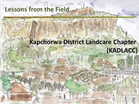 An artist's impression of a Kapchorwa landscape.